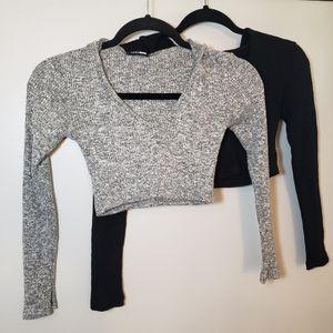 (2) Fashion Nova Wanderlust Hoodies